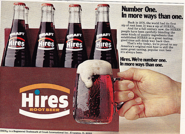 Hires 8 pack ad