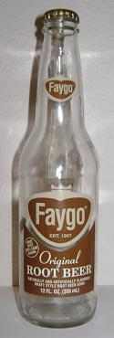 Faygo Root Beer Bottle