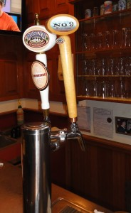 The No. 9 Root Beer tap.