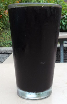 A pint of Boundary Bay Root Beer