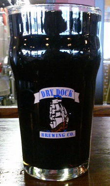A pint of Dry Dock Brewing Company Root Beer