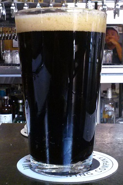 A pint of Wyncoop Brewing Company Root Beer