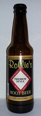 Rollie's Premium Style Root Beer Bottle