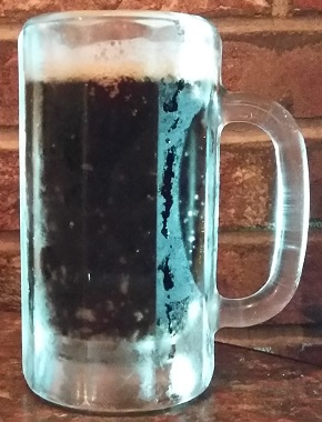 A mug of Don's Root Beer.