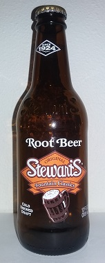 Stewart's Fountain Classics Root Beer Bottle
