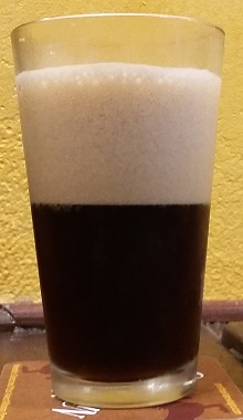 A pint of Great Basin Brewing Company Root Beer