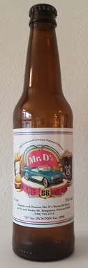 Mr. D'z Root Beer Bottle