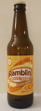 Ramblin' Butterscotch Root Beer Bottle