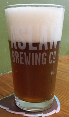 A pint of Aslan Brewing Company Rachelle's Root Beer