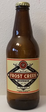 Frost Creek Root Beer Bottle