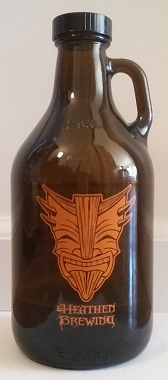Growler of Heathen Brewing Root Beer