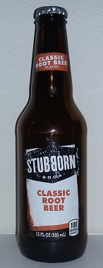 Stubborn Soda Classic Root Beer Bottle