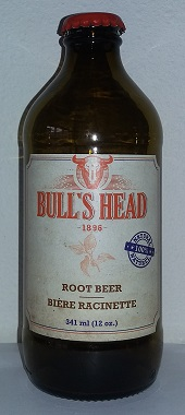 Bull's Head Root Beer Bottle