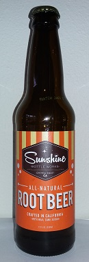 Sunshine Bottle Works Root Beer Bottle