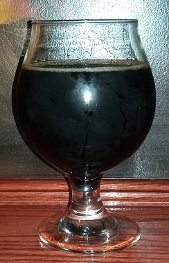 A glass of Demented Brewing Company Root Beer