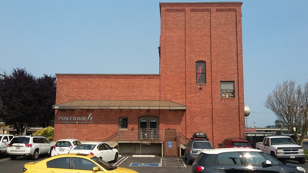The Powerhouse Brewery.