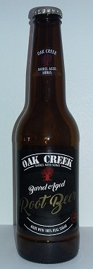 Oak Creek Barrel Aged Root Beer Bottle