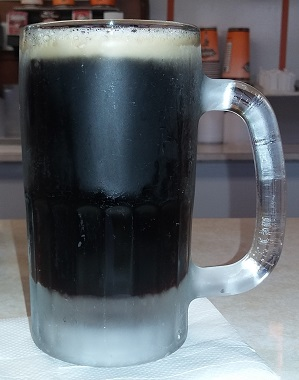 Mug of Stewart's Drive-In Root Beer