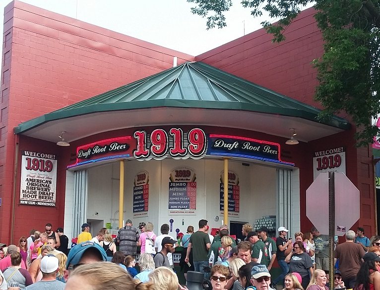 The Minnesota State Fair 1919 Root Beer Stand