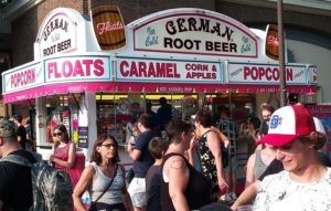 German Root Beer stand