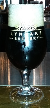 A glass of LynLake Brewery Root Beer