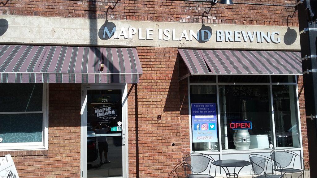 Maple Island Brewing in historic downtown Stillwater