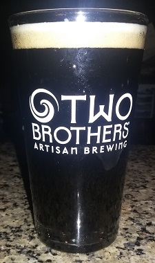A pint of Two Brother's Brewery Cinnamon Root Beer