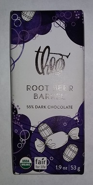 Theo Root Beer Barrel Chocolate Bar