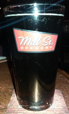 A pint of Mill Street Brewing Distillery Root Beer