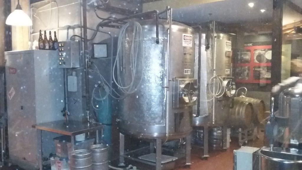 Mill Street Brewery Vats