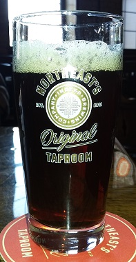 A pint of Ideal Root Beer From Indeed Brewery
