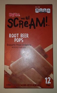 HyVee Root Beer Pops Box