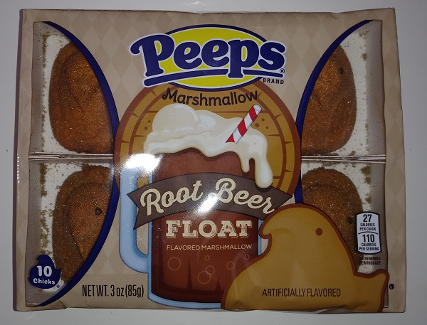 Peeps Root Beer Float