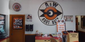 A&W of Lodi wall