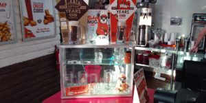 The merchandise display