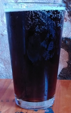 A pint of Fitger's Driftwood Root Beer