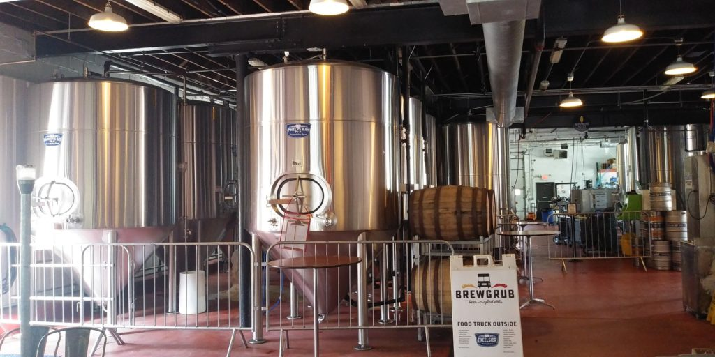 Excelsior Brewing Brew Vats