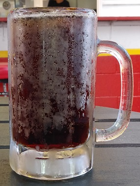 A frosty mug of The Drive-In Root Beer