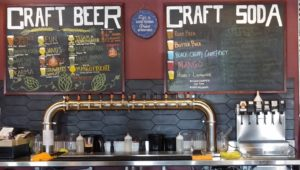 The LTS Brewing Company Taps