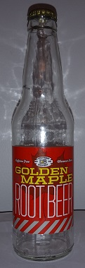 Lakefront Brewery Golden Maple Root Beer Bottle