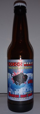 Thunder Beast Texas Edition American Root Beer Bottle