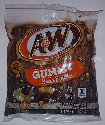 A&W Gummy Soda Bottles