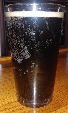 A pint of Red Wing Brewery Root Beer