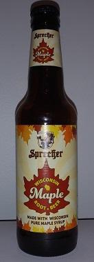 Sprecher Maple Root Beer Bottle