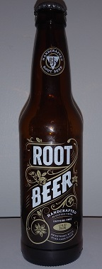 BJ's Handcrafted Root Beer Bottle