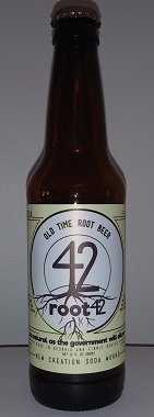 Root 42 Root Beer Bottle