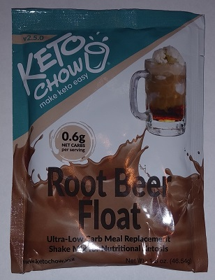 Keto Chow Root Beer Float