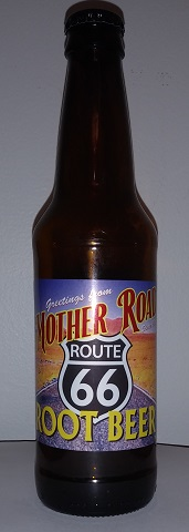 Mother Road Route 66 Root Beer Bottle