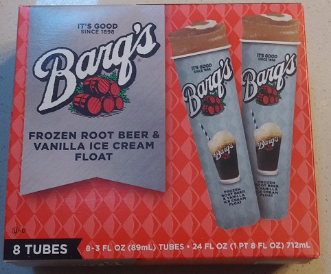 Barq's Root Beer Float Tubes