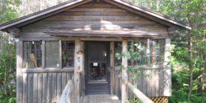 The winter cabin